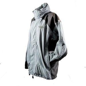 Patagonia Full Zip Hooded Nylon Rain Coat Jacket L